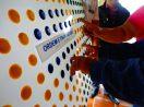Placa Tátil Braille/Relevo Acrílico 20x8cm